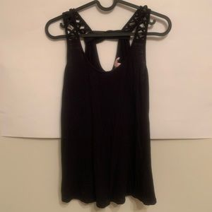 Candies tank top ~ Black ~ Size Small 🖤